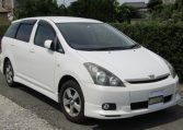 2008 Toyota Wish 1.8 Xs Pkg Auto Optional 4wd 7 Seater MPV (J63), Front View, Drivers Side