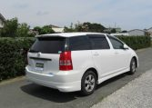 2008 Toyota Wish 1.8 Xs Pkg Auto Optional 4wd 7 Seater MPV (J63), Rear View, Drivers Side