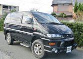 2002 Mitsubishi Delica 3.0 V6 4wd Space Gear Chamonix Auto 7 Seater MPV (R91), Front View, Drivers Side.