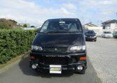 2002 Mitsubishi Delica 3.0 V6 4wd Space Gear Chamonix Auto 7 Seater MPV (R91), Front View.