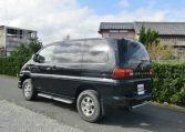 2002 Mitsubishi Delica 3.0 V6 4wd Space Gear Chamonix Auto 7 Seater MPV (R91), Rear View, Passengers Side.