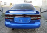2003 Subaru Legacy 2.0 4wd Auto Ltd Edn B4 Rsk Edn Twin Turbo 4 Dr Saloon (S4), Rear View.