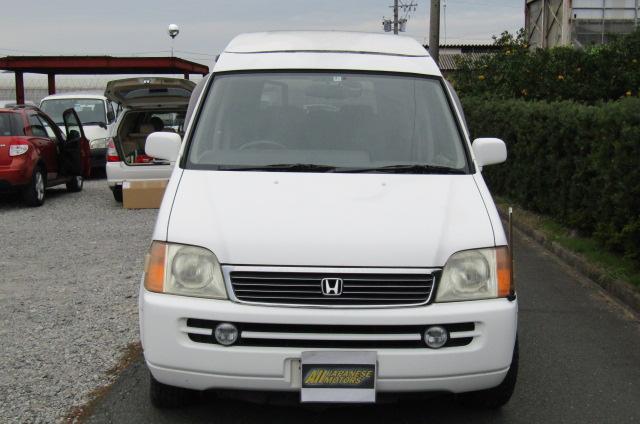 1998 Honda Stepwagon 2.0 Field Deck Pop Top Auto 8 Seater MPV Day Camper Van (H84), Front View,