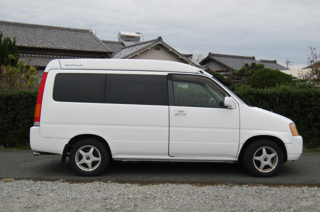 1998 Honda Stepwagon 2.0 Field Deck Pop Top Auto 8 Seater MPV Day Camper Van (H84), Side View, Drivers Side
