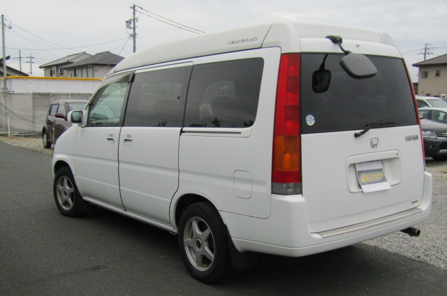 1998 Honda Stepwagon 2.0 Field Deck Pop Top Auto 8 Seater MPV Day Camper Van (H84), Rear View,
