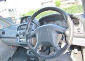 2001 Mitsubishi Delica 3.0 V6 Chamonix 8 Seater MPV (R23), Interior View Dashboard, Steering Wheel & Gear Stick.