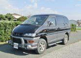 2001 Mitsubishi Delica 3.0 V6 Chamonix 8 Seater MPV (R23), Front View, Passengers Side.