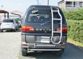 2001 Mitsubishi Delica 3.0 V6 Chamonix 8 Seater MPV (R23), Rear View.
