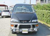2001 Mitsubishi Delica 3.0 V6 Chamonix 8 Seater MPV (R23), Front View.