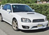 2002 Subaru Legacy 2.0 B4 Twin Turbo Auto Jdm 4wd 4 Dr Saloon (S90), Front View, Drivers Side.