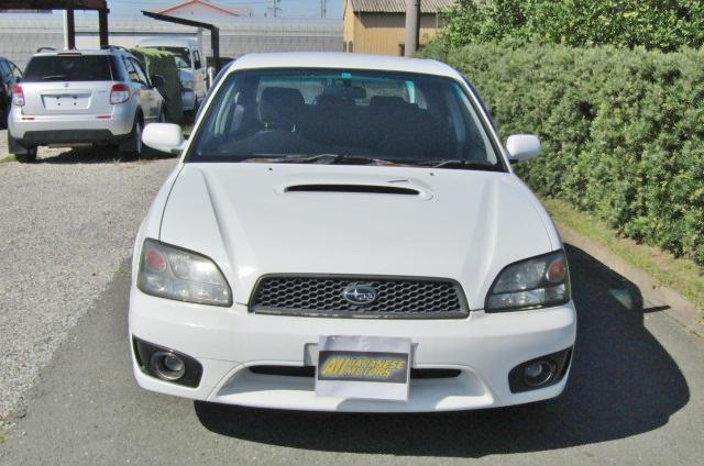 2002 Subaru Legacy 2.0 B4 Twin Turbo Auto Jdm 4wd 4 Dr Saloon (S90), Front View.