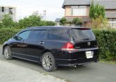 2004 Honda Odyssey 2.4 Ivtec Absolute Auto 7 Seater MPV (H54), Rear View, Passengers Side
