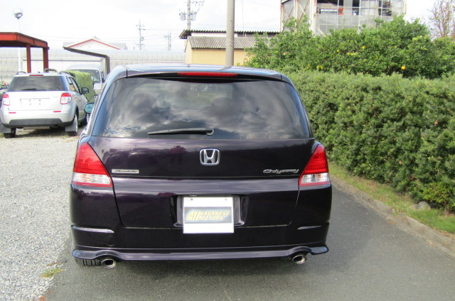 2004 Honda Odyssey 2.4 Ivtec Absolute Auto 7 Seater MPV (H54), Rear View