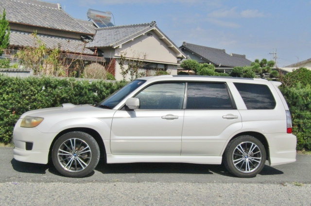 2006 Subaru Forester 2.0 Cross Sports Auto 4wd Sti Look Alike Estate (S25), Side View, Passengers Side.