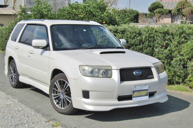 2006 Subaru Forester 2.0 Cross Sports Auto 4wd Sti Look Alike Estate (S25), Front View, Drivers Side.