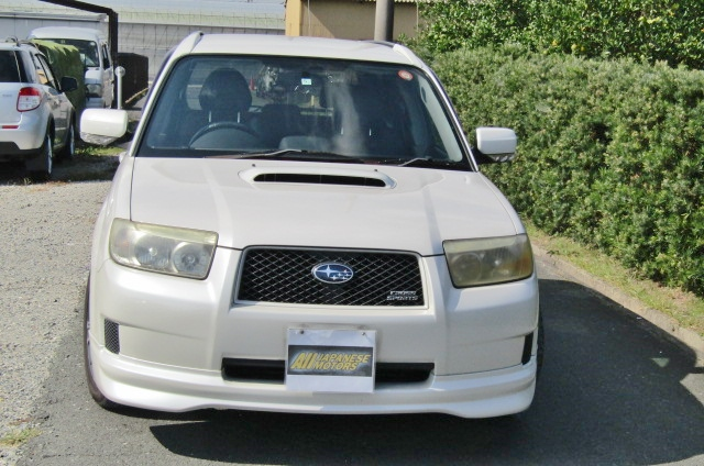 2006 Subaru Forester 2.0 Cross Sports Auto 4wd Sti Look Alike Estate (S25), Front View.