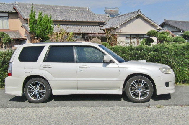 2006 Subaru Forester 2.0 Cross Sports Auto 4wd Sti Look Alike Estate (S25), Side View, Drivers Side.