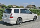 2006 Subaru Forester 2.0 Cross Sports Auto 4wd Sti Look Alike Estate (S25), Rear View, Drivers Side.