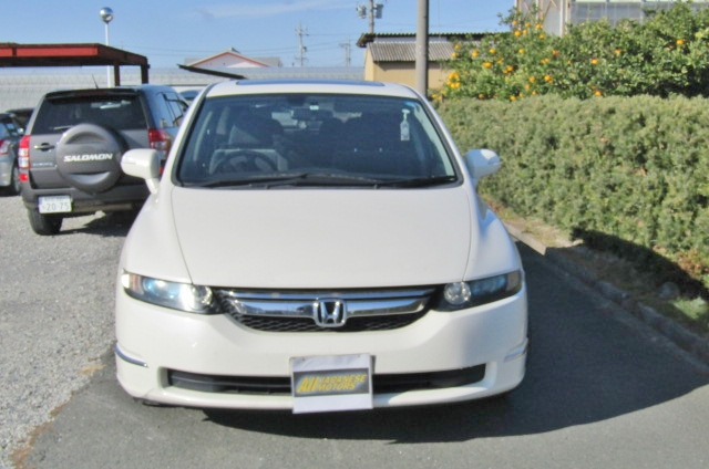 2007 Honda Odyssey 2.4 4wd Auto 7 Seater MPV (H72), Front View