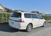 2007 Honda Odyssey 2.4 4wd Auto 7 Seater MPV (H72), Rear View, Drivers Side