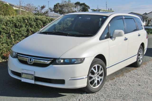 2007 Honda Odyssey 2.4 4wd Auto 7 Seater MPV (H72), Front View, Passengers Side