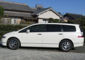 2007 Honda Odyssey 2.4 4wd Auto 7 Seater MPV (H72), Side View, Passengers Side