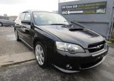 2003 Subaru Legacy 2.0 Bp5 GT Turbo Twinscroll Spec B 4WD Auto Estate (S5), Front View, Drivers Side.