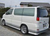 1998 Nissan Elgrand 3.3 Highway Star Auto 8 Seater MPV (E75)1998 Nissan Elgrand 3.3 Highway Star Auto 8 Seater MPV (E75), Rear View, Passengers Side.