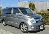 2005 Nissan Elgrand 2.5 Highway Star Auto 8 Seater MPV (E54), Front View, Drivers Side.