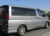 2005 Nissan Elgrand 2.5 Highway Star Auto 8 Seater MPV (E54), Rear View, Drivers Side.