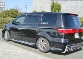 2007 Honda Elysion 3.5 Prestige Auto 7 Seater MPV (H8), Rear View, Passengers Side