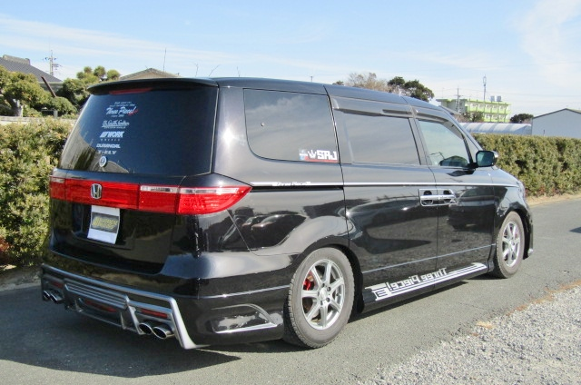2007 Honda Elysion 3.5 Prestige Auto 7 Seater MPV (H8), Rear View, Drivers Side
