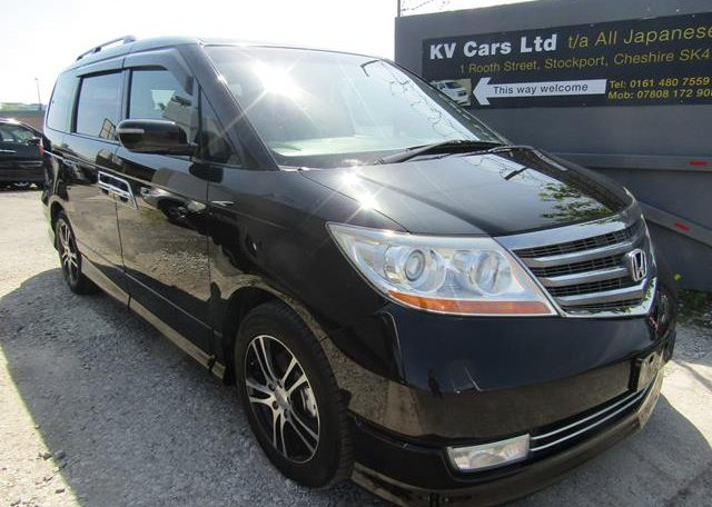 2008 Honda Elysion 2.4 S Prestige Facelift Rr1 7 Seater MPV (H69), Front View, Drivers Side