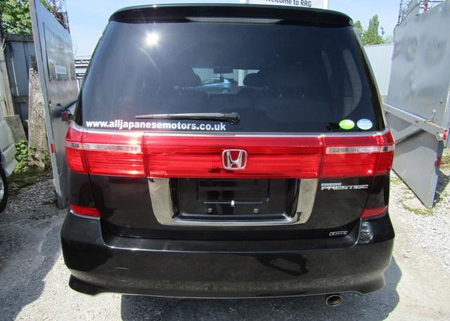 2008 Honda Elysion 2.4 S Prestige Facelift Rr1 7 Seater MPV (H69), Rear View