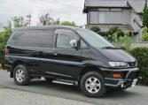 2004 Mitsubishi Delica 3.0 V6 4wd Auto Chamonix 4wd 8 Seater MPV (R13), Front View, Drivers Side.