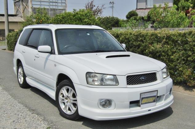 2004 Subaru Forester 2.0 Cross Sports Auto 4wd Sti Look A Like Estate (S31), Front View, Drivers Side.