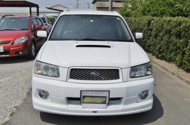 2004 Subaru Forester 2.0 Cross Sports Auto 4wd Sti Look A Like Estate (S31), Front View.