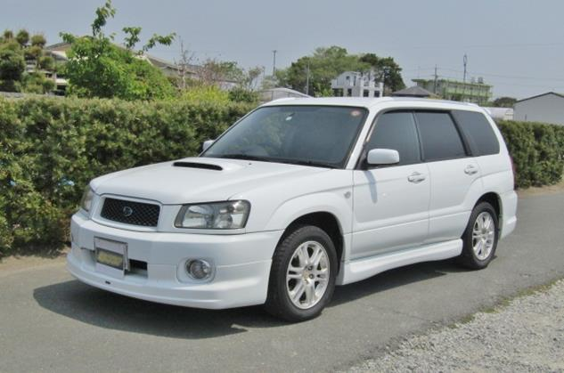 2004 Subaru Forester 2.0 Cross Sports Auto 4wd Sti Look A Like Estate (S31), Front View, Passengers Side.