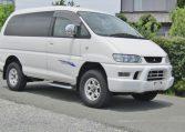 2005 Mitsubishi Delica 3.0 V6 Auto Space Gear 4wd Chamonix 7 Seater MPV (R70), Front View, Drivers Side