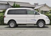 2005 Mitsubishi Delica 3.0 V6 Auto Space Gear 4wd Chamonix 7 Seater MPV (R70), Side View, Drivers Side.