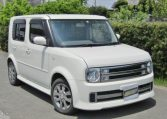 2008 Nissan Cube Rider 1.4 4wd Auto 5 Dr Hatchback (Y48), Front View, Drivers Side