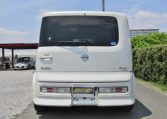 2008 Nissan Cube Rider 1.4 4wd Auto 5 Dr Hatchback (Y48), Rear View.