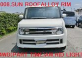 2008 Nissan Cube Rider 1.4 4wd Auto 5 Dr Hatchback (Y48), Front View.