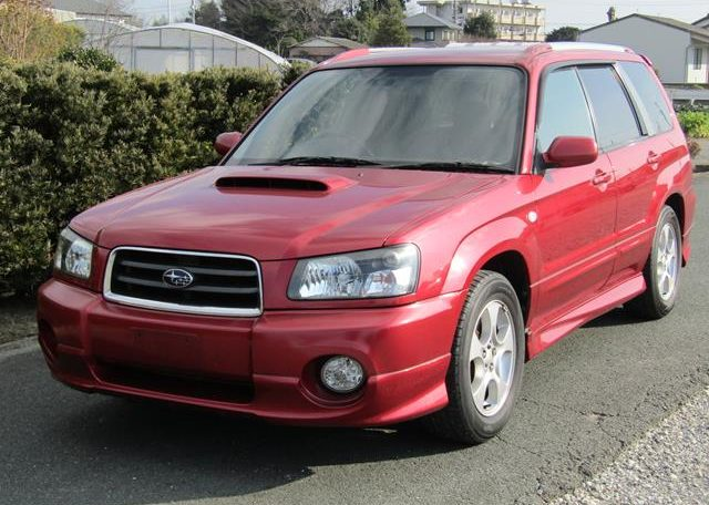 2002 Subaru Forester 2.0 Xt Turbo Jdm 4wd Awd Auto Estate (S11), Front View, Passengers Side.