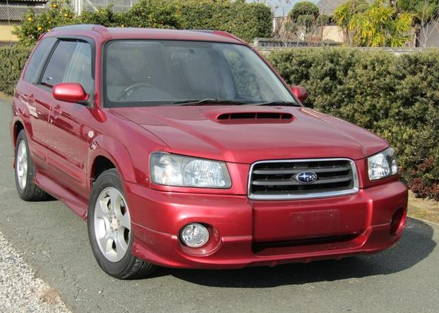 2002 Subaru Forester 2.0 Xt Turbo Jdm 4wd Awd Auto Estate (S11), Front View, Drivers Side.