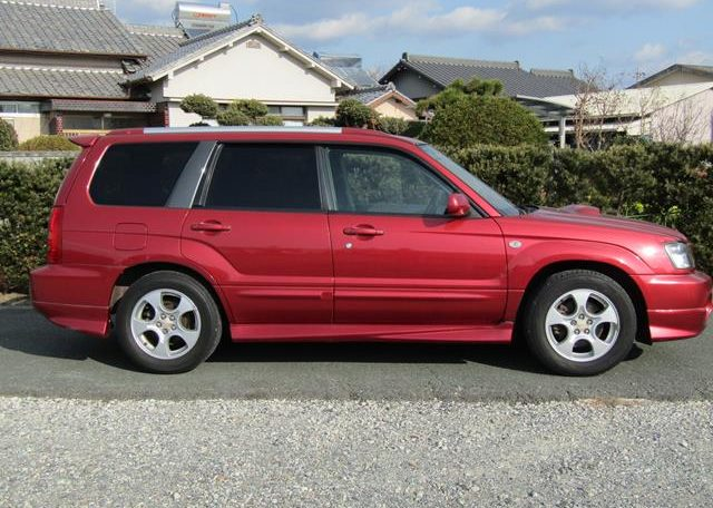 2002 Subaru Forester 2.0 Xt Turbo Jdm 4wd Awd Auto Estate (S11), Side View, Drivers Side.