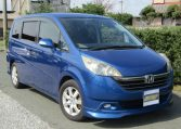 2005 Honda Stepwagon 2.0 Gs Pkg Auto 8 Seater MPV (H55), Front View, Drivers Side