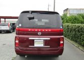 2007 Nissan Elgrand 2.5 Auto Optional 4wd Highway Star 8 Seater MPV (E58), Rear View.