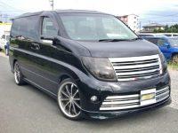 2005 Nissan Elgrand 2.5 V6 Auto Me51 Rider Auto 8 Seater MPV (E98), Front View, Drivers Side.