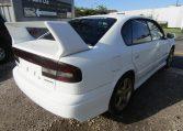 2002 Subaru Legacy 2.0 B4 Twin Turbo Auto Jdm 4wd 4 Dr Saloon (S90), Rear View, Drivers Side